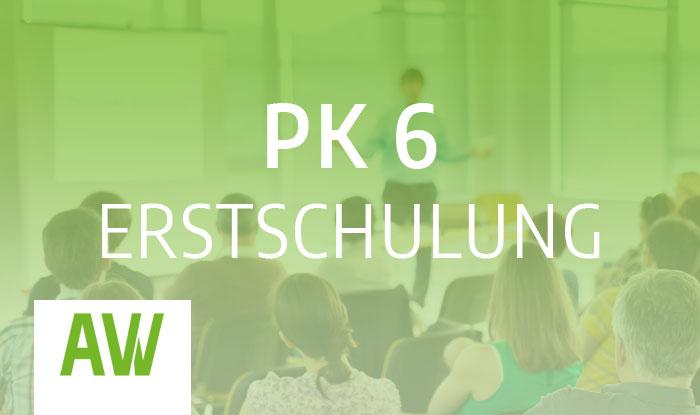 Gefahrgut Personalkategorie PK 6 Erstschulung