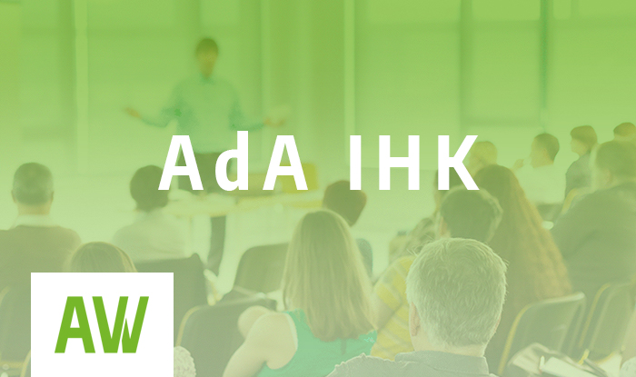 AdA Kompakt-Seminar AEVO – Ausbildung der Ausbilder IHK