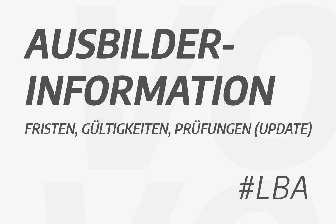 Informationen Aubilder LBA