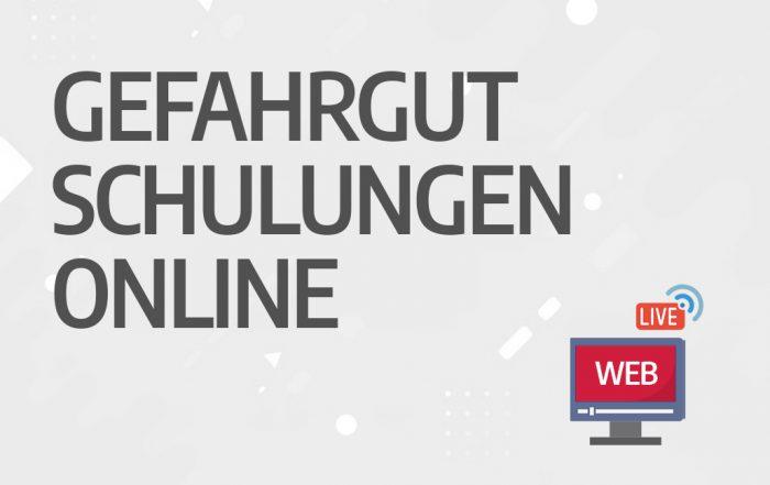 Gefahrgutschulungen Online